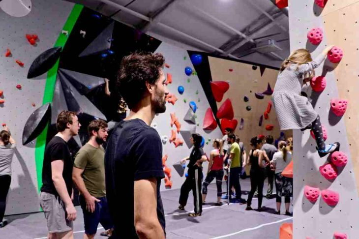 climbing gym in Paris