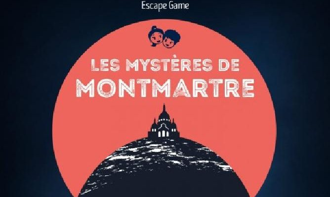 outdoor escape game in Montmartre