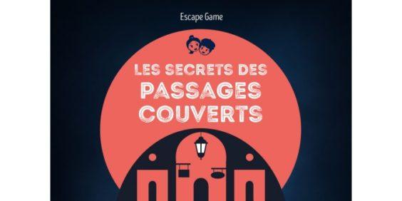 escape game dans les passages couverts pour les enfants