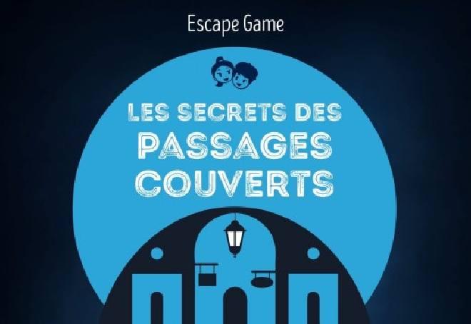 Escape game en outdoor dans les passages couverts à Paris, spécial enfant
