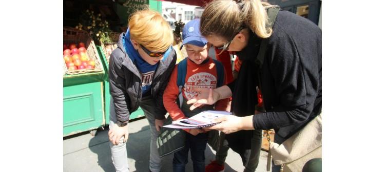 escape game en extérieur pour les enfants à Montmartre