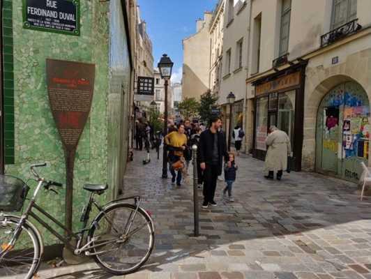 privatisation d'une visite dans le Marais