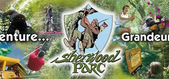 Sherwood Parc et ses 41 parcours d'accrobranche