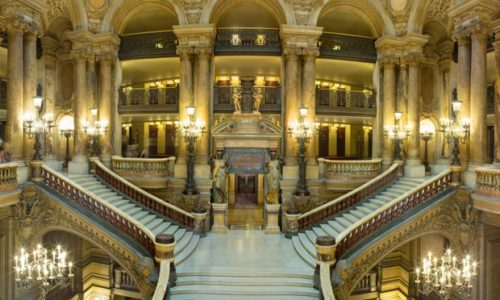 the free visit of the Paris Opera