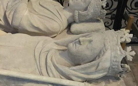 les gisants de la Basilique Saint-Denis