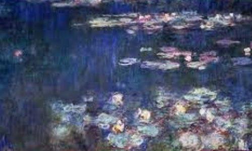Monet's water lilies at the Musée de l'Orangerie