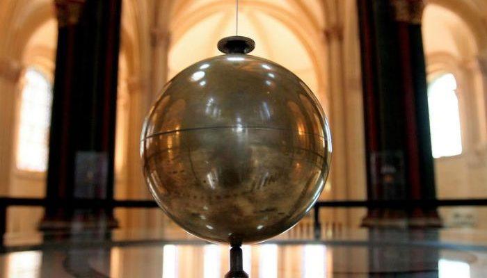 Le pendule de Foucault au musée des Arts et Métiers