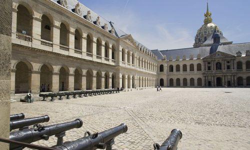 la cour du musée des Invalides