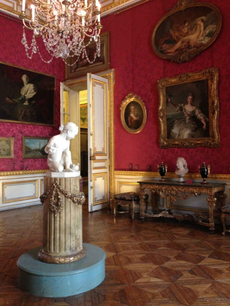 the hall of the Jacquemart-André museum