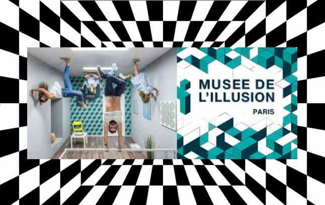 le musée de l'illusion, lq sortie top avec des ados
