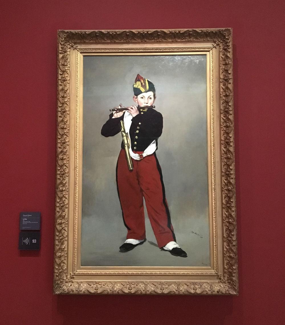 le joueur de fifre de Manet au musée d'Orsay