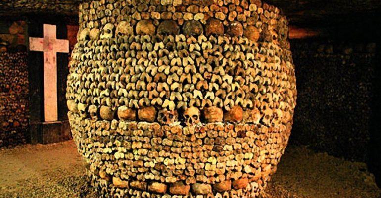 la visite des Catacombes de Paris