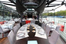 croisière déjeuner sur la Seine
