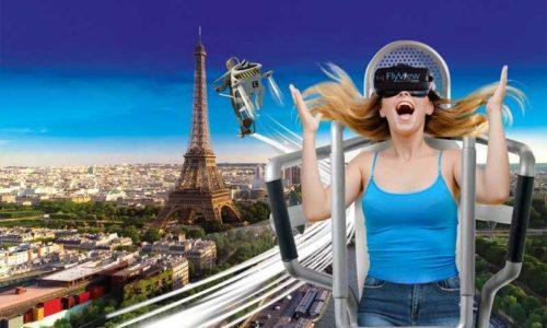 Flyview, le vol virtuel au dessus de Paris