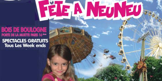 La fête à Neu-Neu, la fête foraine du Bois de Boulogne