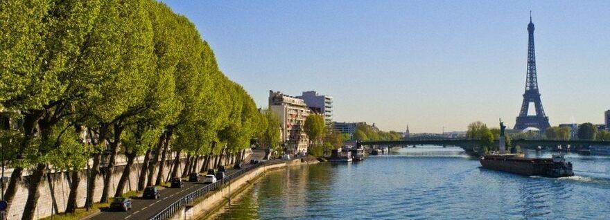 les bords de Seine à Paris