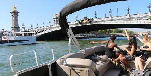 location bateau seine Paris