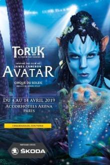 Affiche du dernier spectacle du cirque du Soleil à Paris