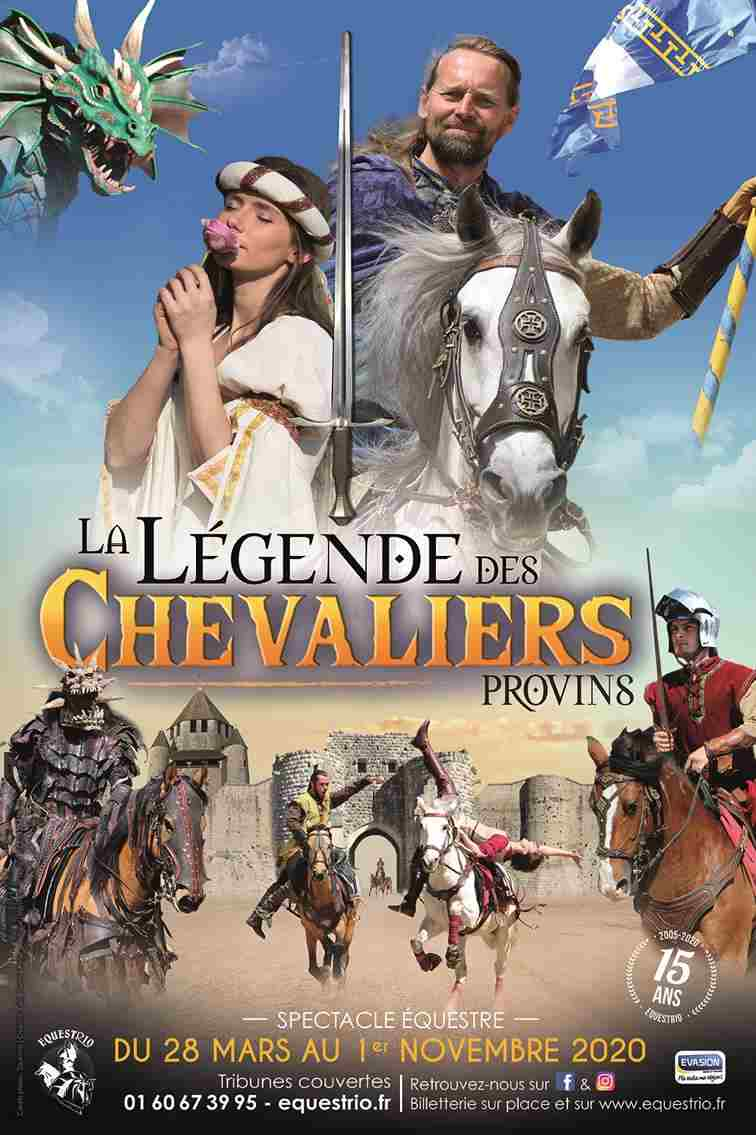medieval show in Provins