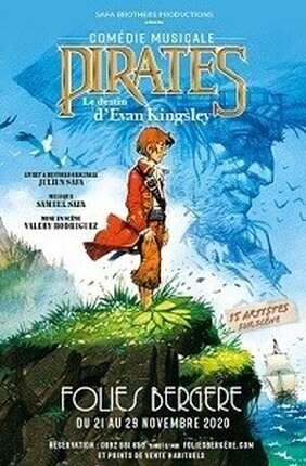 Pirates, la comédie musicale des vacances de la Toussaint à Paris