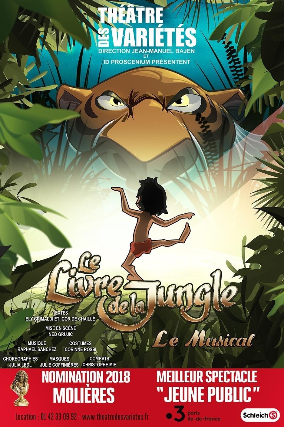 Le Livre De La Jungle Comedie Musicale Pour Enfant Des 5 Ans