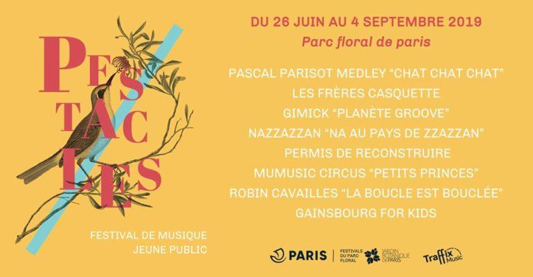concerts à l'extérieur : Les pestacles du parc floral