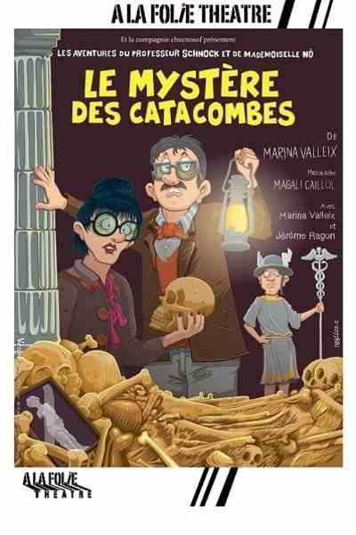 le mystere des catacombes, pièce jeune public
