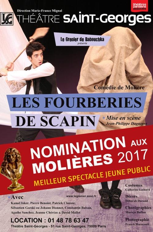 meilleur theatre paris