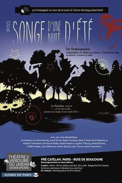 Le Songe d'une nuit d'été au théâtre de Verdure
