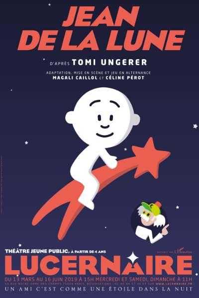 Spectacle pour enfants, Jean de la Lune au théâtre le Lucernaire