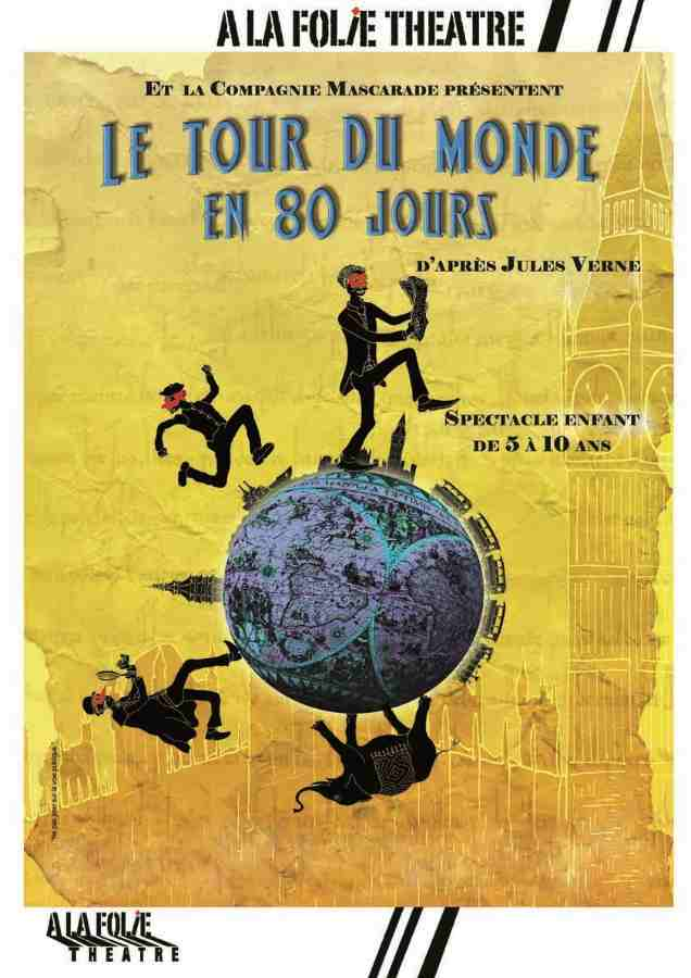 Around the world in 80 days at the theatre