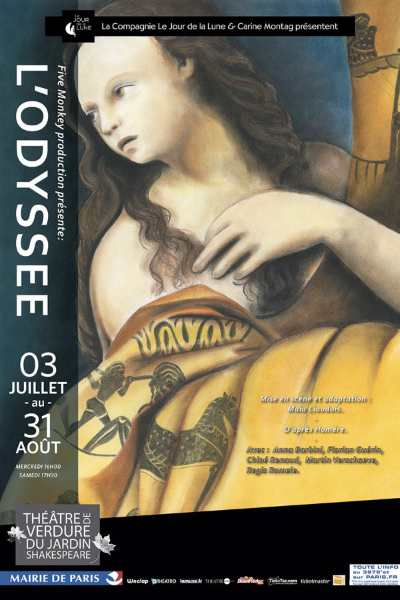 The odyssey at the open-air theatre