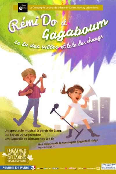 La pièce pour les enfants au théâtre de Verdure