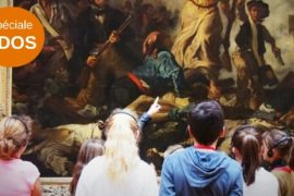 guided tour for teenagers at the Louvre