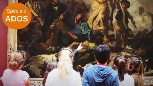 visite guidée pour les ados des chefs d'oeuvre du Louvre
