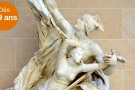 guided tour on the theme of mythology at the Louvre