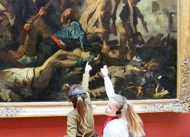 Les chefs d'oeuvre du Louvre expliqués aux 8 – 13 ans