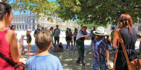 """Visite Enquête  """"La merveilleuse légende des Tuileries"""""""
