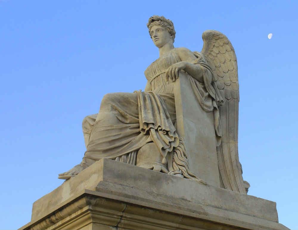jeu de piste en famille aux Tuileries thème mythologie