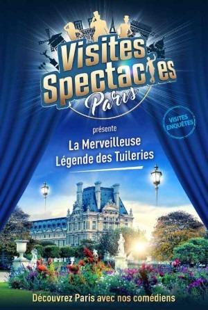 La Merveilleuse Légende des Tuileries, visite Enquête en famille