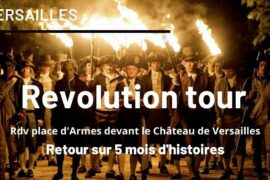 Versailles tour on the French Revolution
