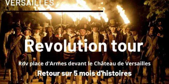 """""""Révolution tour"""", visite guidée à Versailles"""
