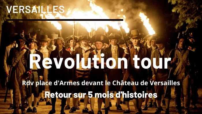 tour de Versailles sur la Révolution Française