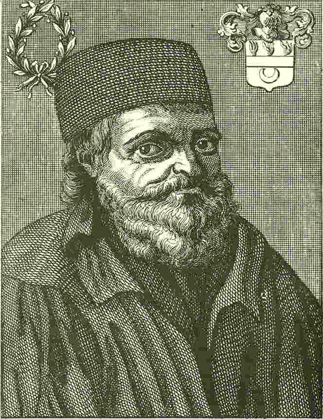 Nicolas Flamel and his house on the island of the city