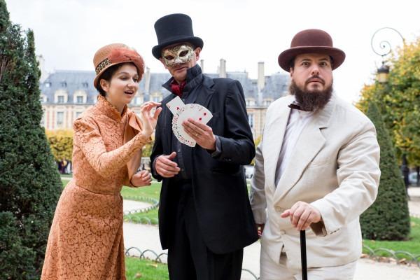 la magie du Marais : visite spectacle pour toute la famille