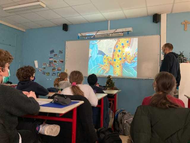 visites virtuelle de Paris à l'école