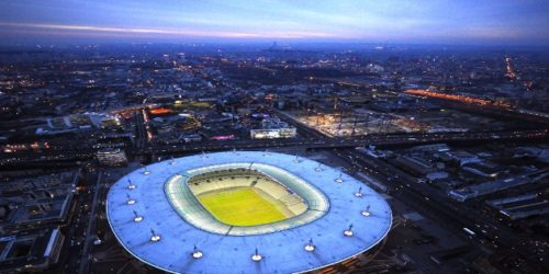 aerial view of the Stade de France