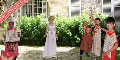 visite costumée pour les enfants dans Paris