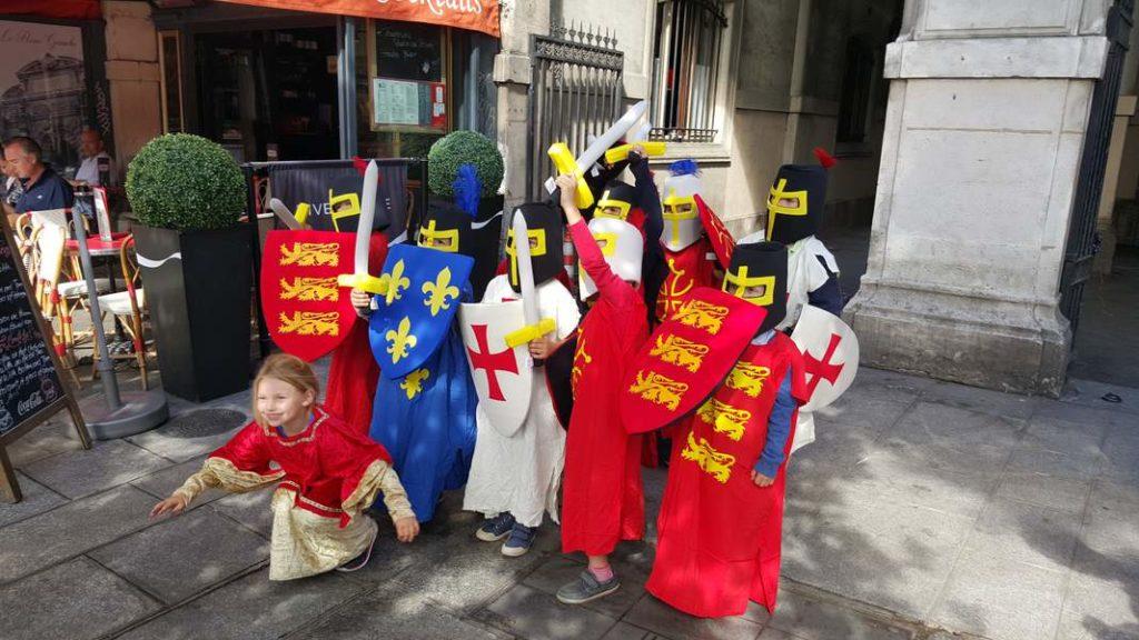 une visite guidée pour les enfants pour découvrir le Paris Médiéval