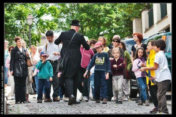 la visite spectacle à Montmartre idéale en famille